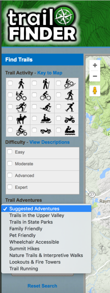 The TrailFinder search engine